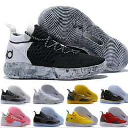 8cf6006ca63 2018 Cheap KD 11 EP Elite Basketball Shoes 11s Men Multicolor Peach Jam Mens  Doernbecher Trainers Kevin Durant 11 EYBL All-Star BHM Sneakers