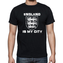 england team shirts Canada - England is my city meme world cup football team inspired Black t-shirt mens fit