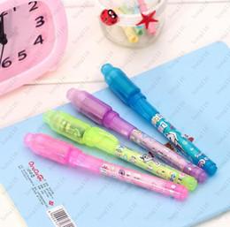 Nouveau pack de cartes Blister individuel pour chaque stylo lumière noire, stylo UV avec lumière ultra violette / stylo à encre invisible / stylo invisible Livraison gratuite ? partir de fabricateur