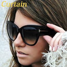 óculos de sol esportivos sexy Desconto Gato das senhoras dos olhos óculos de sol Mulheres Estilos Sexy Outdoor Sports Óculos de Oculos de sol Óculos Feminino Big vintage frame óculos de sol
