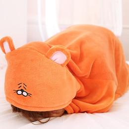 Wholesale Hamsters Free Shipping - Candice guo! Himouto Umaru-chan Anime Cosplay Cloak Home Dress Umaru Hoodies hamster blanket UMR Free shipping 1pc