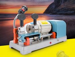 Máquina de corte universal online-BW-9 automática de duplicación de la máquina 220 v 110 v llaves universales máquina de corte taladro fresadora kit de herramientas de cerrajería LLFA