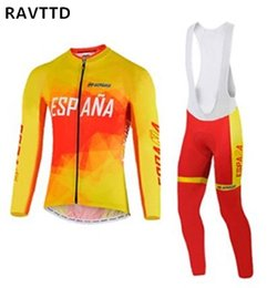 2018 İspanya Pro Kış Uzun Kollu Termal Polar Bisiklet Giyim Ropa Ciclismo Yüksek Kaliteli Bisiklet Giyim nereden