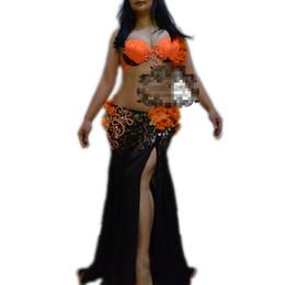 Canada Danse orientale, broderie de diamants jupes robe de costume de soutien-gorge pour la danse orientale ceinture de danse pour le costume de danse du ventre supplier eastern set Offre