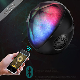Kablosuz Bluetooth Hoparlör Yeni Renk Topu Kristal Sihirli Top Kart Mini Cep Telefonu Subwoofer Bluetooth Ses Perakende Paketi Aicoo nereden