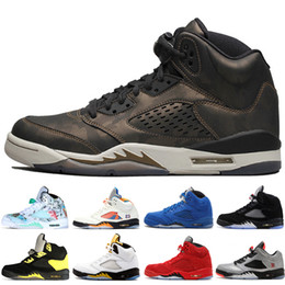 china neue sneakers Rabatt Günstige New 5 5s Wings International Flug Mens Basketball Schuhe Rot Blau Wildleder Low Neymar China Männer Sport Turnschuhe Designer Trainer 7-13