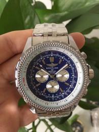 2019 relógio navitimer 2018 marca de nova qualidade relógio automático dos homens NAVITIMER mostrador preto relógio de moda azul dos homens desconto relógio navitimer