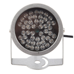 Wholesale infrared illuminator light - Wholesale- Promotion! UK 48 LED illuminator light CCTV IR Infrared Night Vision Lamp for Security Came