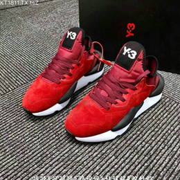 Zapatos y3 para hombre online-Los más nuevos hombres zapatos casuales Y3 Kaiwa Chunky zapatillas de deporte Y-3 Kaiwa Chunky zapatillas deportivas de entrenamiento zapatos casuales tamaño 36-44
