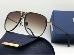 Wholesale fine packages - DECADE TWO Limited Edition Luxury Pilots Sunglasses Fine Metal New Designers Classic Fashion Lady Brand Sunglasses Original Package UV400