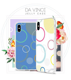 Wholesale retail packaging printing - Jelly Clear Printing Bumper Case MERCURY GOOSPERY Shockproof Cover For iphone X 8 7 plus Samsung S9 S8 plus Note8 A8 2018 LG Retail Package