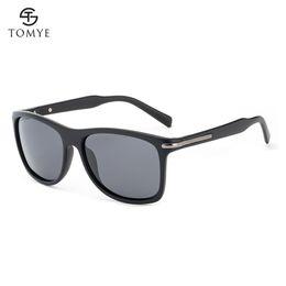 Gli occhiali da sole di moda polarizzati online-Occhiali da sole polarizzati da uomo TOMYE Vogue Casual Glasses Accessory P6010