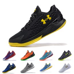 Wholesale Purple Homes - Hot Sale under armour UA Curry 1 One Low Home men basketball shoes Sports Sneakers Cushion trainers Final On Foot outdoor Cushion designer