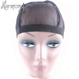 5 pezzi di stile a cupola parrucca a rete per fare parrucche colore nero moda estensibile berretto da tessitura maglia di nylon elastica all'ingrosso da costume sette fornitori
