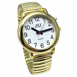 541afd4dfe1 Relógio Falante Inglesa para Cegos ou Idosos e Deficientes Visuais com  Alarme de Quartzo