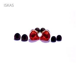 Canada ISKAS Ecouteurs basses pour casque Ecouteurs Musique Hybrid Technology Téléphone Téléphones Portables Electronique 2 Moving Iron 1 Mobile Ring Nouveau cheap iron cable Offre