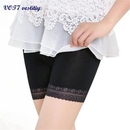 Wholesale Tiered Pants Wholesale - Breathable sexy ladies pants VOT7 vestitiy sexy mini Lace Tiered Skirts Short Skirt Under Safety Pants Underwear shorts A 3