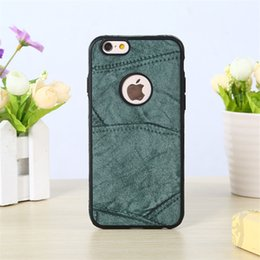 Wholesale Iphone Fall Case - For Iphone 7 Plus Business Thin Anti-fall High-end For Iphone 8 Plus Case Mobile Phone Package