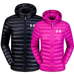 Wholesale winter puffer - Autumn and winter new 90% white duck down fashion Women's Winter fashion Men's down Jacket Hooded White Duck Down Coat Puffer Outwear - 8858