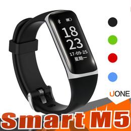 Wholesale wireless heart rate monitor sport - M5 Fitness Tracker Smart bands Waterproof Activity Heart Rate Monitors Sleep Wireless Bluetooth Smart Bracelet Pedometer Sports Wristbands