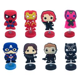 La bambola libera di trasporto di Marvel's The Avengers Favore di partito Toy Decoration per TableCar e vendita al dettaglio per Kid Migliori regali da giallo giocattolo coniglio fornitori