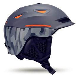 Wholesale safety cap helmet - Snow Unisex Ski Helmet Breathable Ultralight Skiing Cap For Men Women Snowboard Skateboard Winter Outdoor Sports Safety