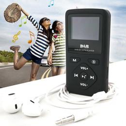 Casque bluetooth batterie rechargeable en Ligne-DAB-P7 Radio de poche DAB FM Radio numérique avec casque intégré Batterie Prise en charge Bluetooth MP3 Mayitr