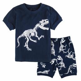 Kleidung Sets Mutter & Kinder Kinder Pyjamas Jungen Baumwolle Nachtwäsche Jake Und Die Nimmerland Piraten Cartoon Loungewear Kinder Jungen Homewear Herbst Nachtwäsche
