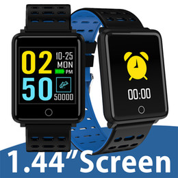xiaomi smart watch Promo Codes - For apple iphone Smart Bracelet watch 1.44 Inch Color Screen Heart Rate Blood Pressure Monitoring IP68 Waterproof pk xiaomi band 3 fitbit