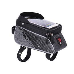 2020 caso della borsa della bici Bici della bicicletta del sacchetto di immagazzinaggio di caso Borse Ciclismo impermeabile telefono per l'iPhone 8 Inoltre Samsung Galaxy S7 YS-BUY caso della borsa della bici economici