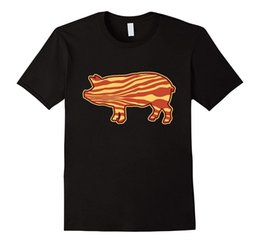 pig t shirts Promo Codes - Bacon Pig, Pig, Eat Bacon, I Love Bacon, I Love Pigs T-Shirt