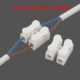 Connecteur rapide de câble de bornier rapide de câble de 2P 3P aucune soudure pour la taille de câble 0.5-2.5MM2 ? partir de fabricateur