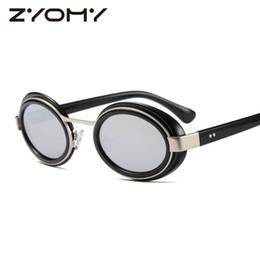 55e78729447 ZYOMY Sunglasses Ladies Brand Designer Mirror Shades Women Eyewear Gafas Men  Sun Glasses Oculos de sol Oval Luxury Sunglass 2018