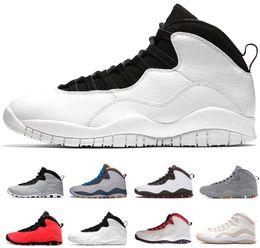 Chaud 10 10s Cement hommes chaussures de basket je suis de retour Westbrook Classe de 2006 blanc noir Cool Steel Grey Powder Bleu chaussures de sport baskets ? partir de fabricateur