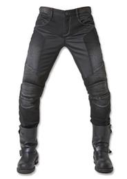 UglyBROS JUKE UBP-01 Black Jeans Verão malha respirável homens Calças Jeans motocicleta de protecção de corrida Calças Moto supplier race jeans de Fornecedores de jeans de corrida
