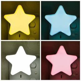 Star forme murale lumière Led clignotant lampe veilleuses pour enfants parti chambre Decor automatique capteur de décoration de Noël cadeaux HH7-1803 ? partir de fabricateur