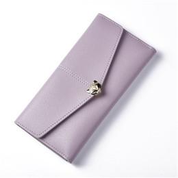 bolsas de estilo s Rebajas estilo EuropaAmérica fresca pequeña bolso de la cartera del monedero del estudiante cambie bolso del monedero de múltiples funciones de las mujeres hebilla de teléfono