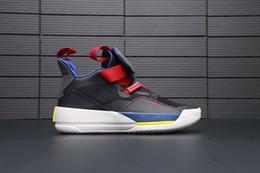 56769d65e0f3c NIKE Cspace Air Jordan 33 basketball shoes 2018 scarpe sportive più calde  BV5072-001 scarpe sportive da uomo comode suole outdoor travel casual paio  di ...
