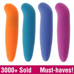 Wholesale Sex Toys Clitoral Stimulation - Powerful Mini G-Spot Vibrator for beginners, Small Bullet clitoral stimulation, adult sex toys for women Sex Products for women