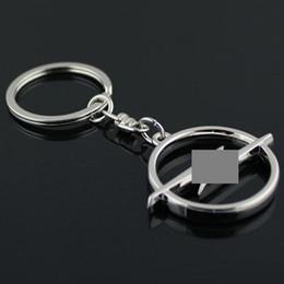 100 pcs / Lot Styling New Metal Car logo Keychain Creux Emblème Porte-clés Pour Mercedes / Volkswagen VW / H / OPEL / Audi porte-clés anneau Porte-clés ? partir de fabricateur