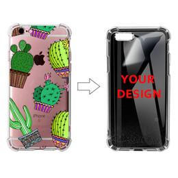 casi di stampa auricolare Sconti 100 pezzi all'ingrosso stampa UV personalizzato il proprio caso air bag design per iPhone 9 XS colorato copertura del telefono cellulare TPU