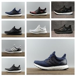 Wholesale Running Jumping - Best Runs quikly men women Ultra Boost 3.0 4.0 Triple CNY oreo Ultra Boost Primeknit Shoes sports trainers jump 36-45