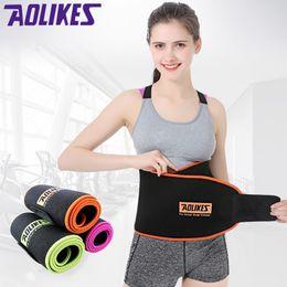 d3316dc2c Fitness Sports Exercise Waist Band Pro Sweat Waist Trimmer Protector Belly  Shaper Thin Adjustable Belt Training For Men Women discount waist trimmer  belt ...