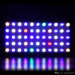 Wholesale Blue Lights For Fish Tanks - LED Aquarium Grow Light Dimmable 165W Plus JCBritw Full Spectrum Adjustable with Crystal Lens for Fish Tank  Coral Reef Growing