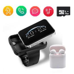 Smart watch i5s retângulo 2.2 polegada colorido grande tela Mini Carro Grande-angular registro de Vídeo Pedômetro pulseira Inteligente relógio do telefone cheap large smart phones de Fornecedores de grandes telefones inteligentes