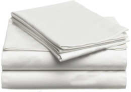 Wholesale King Grey Bedding Sets - 100% Egyptian cotton 1200 TC bedding set super King size Ivory light grey color 4 pieces bedding fitted flat sheets customize