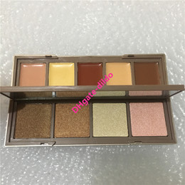 contour palettes branded Coupons - Hot Brand Makeup 9 colors Skin Shape shifter Palette contour kit Face Bronzer and Highlighter Concealer