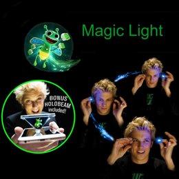 Wholesale Performance Magic - Magic lights Honeybee new toy magic finger prop lamp 3D hologram projection toy party performance Magic Light Magical Handmade FFA015