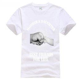 shirt for mother daughter Promo Codes - mother & daughter best friends for life fist punch mothers day tee t SHIRT 5 may month second monther's day mum i love tops 2018