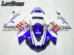 Argentina Ajuste de plástico ABS de alta calidad para Yamaha YZF1000 YZF 1000 R1 1998 1999 98 99 Moto Custom Made Motorcycle Fairing Kit Bodywork 01 supplier r1 plastics kit Suministro